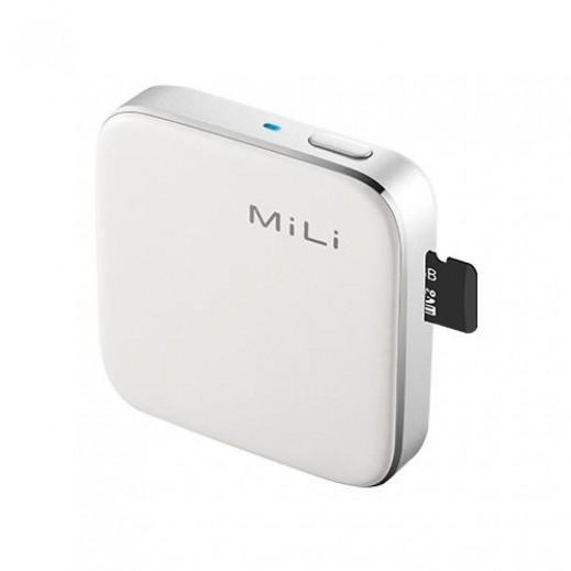 MiLi iData Air III Wireless Flash Drive - White