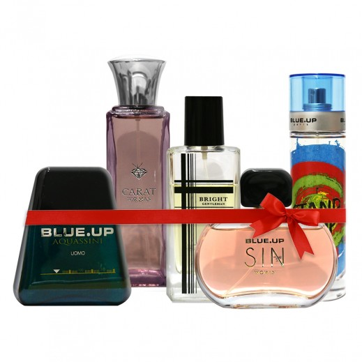 Bundle Of 5 Perfumes For Him & Her