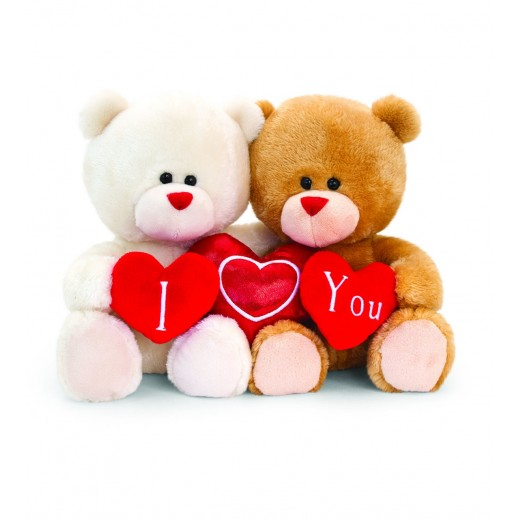 Keel 20 cm Hugging Pipp the Bear with Hearts