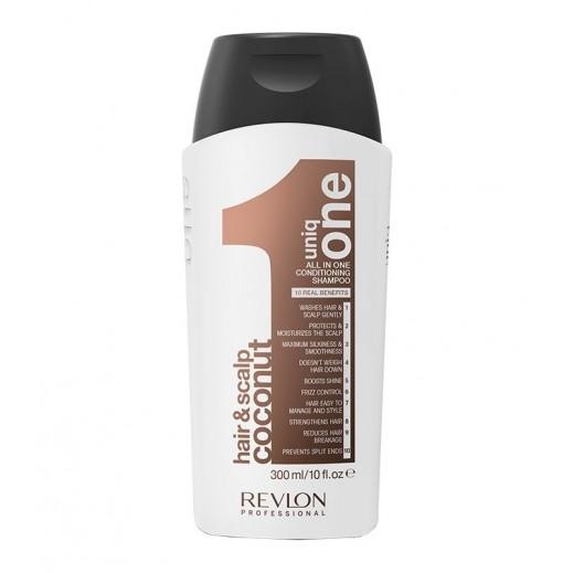 Revlon Uniq One Hair & Scalp Coconut Conditioning Shampoo 300 ml