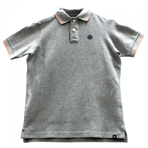 Nike Boy's Grand Slam Polo Grey