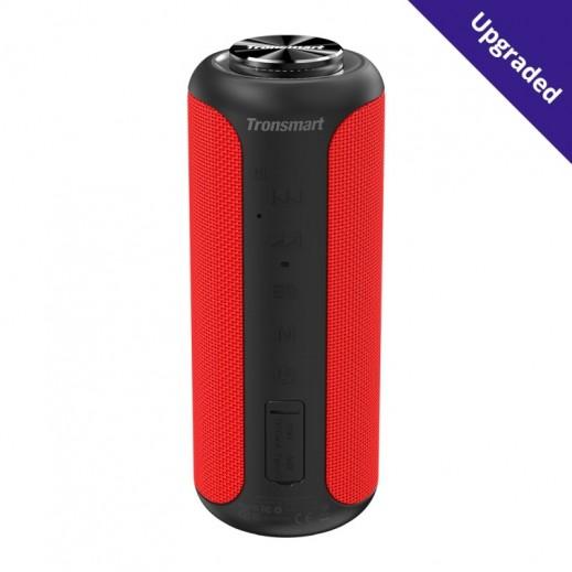 Tronsmart T6 Plus Upgraded Edition SoundPulse® Bluetooth Speaker – Red