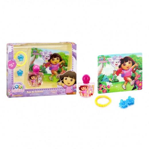 Dora Set EDT 50 ml Plus Puzzle, Bracelet & Clips