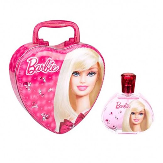 Barbie Mettalic Heart Shaped EDT 100 ml