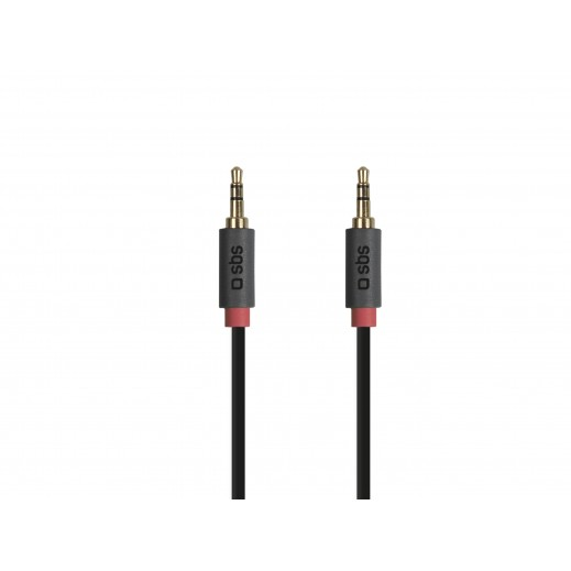 SBS Audio Stereo Cable Black