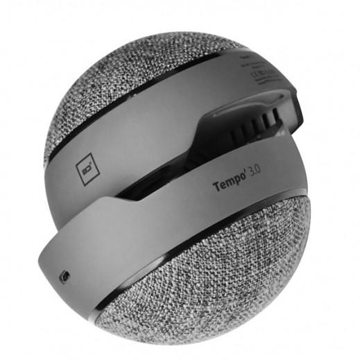 BD 3 W Portable Bluetooth Speaker - Grey