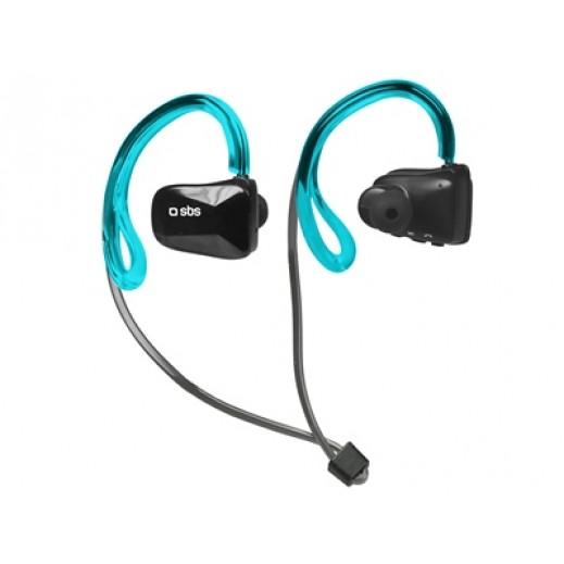 SBS Earset Bluetooth stereo Runway Swim Blue/Black