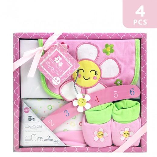 Cribmates Layette Set of 4 Pink
