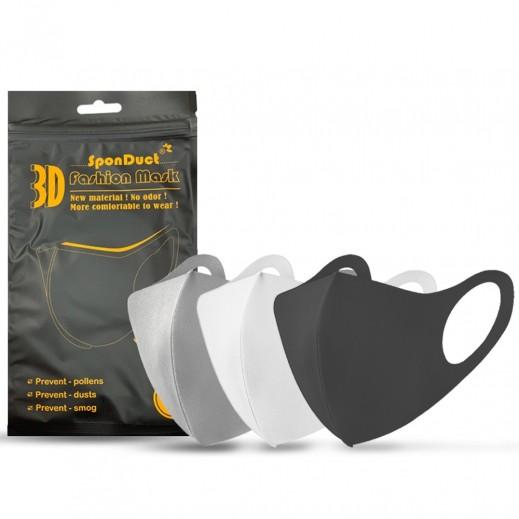 SponDuct 3D Washable & Reusable Fashion Anti Air Pollution Dust Mask