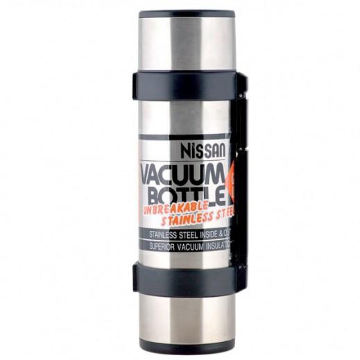 Nissan NCB Stainless Steel Vacuum Flask 1 Ltr Black