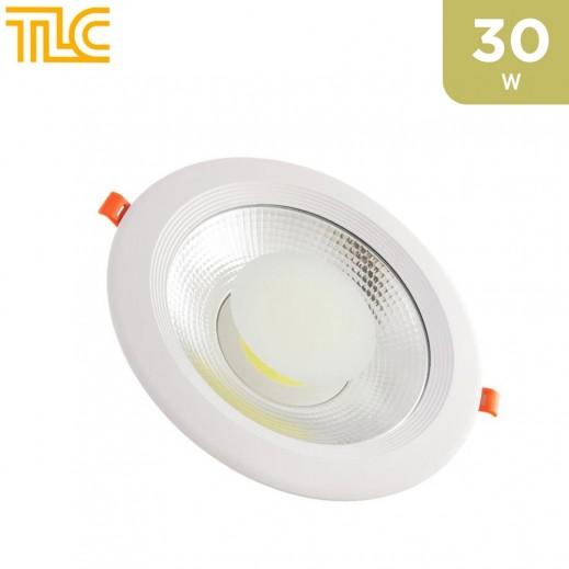TLC 30W Down Light COB 20x20cm - White - 1PCS