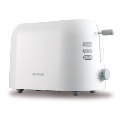 KENWOOD 2 Slice Slot Toaster with Defrost and Reheat Function 900 W – White