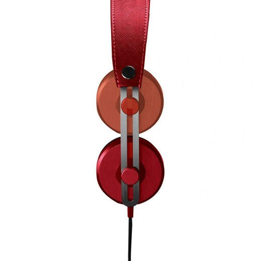 Promate Tone Vintage Styled In-Line Stereo Headphones Red