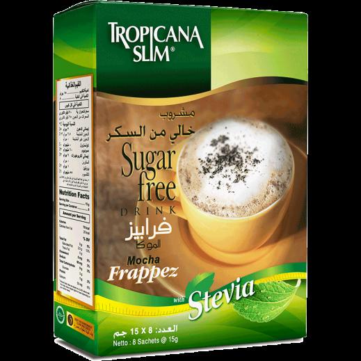 Tropicana Slim Sugar Free  Frappez Drink 10x12 g