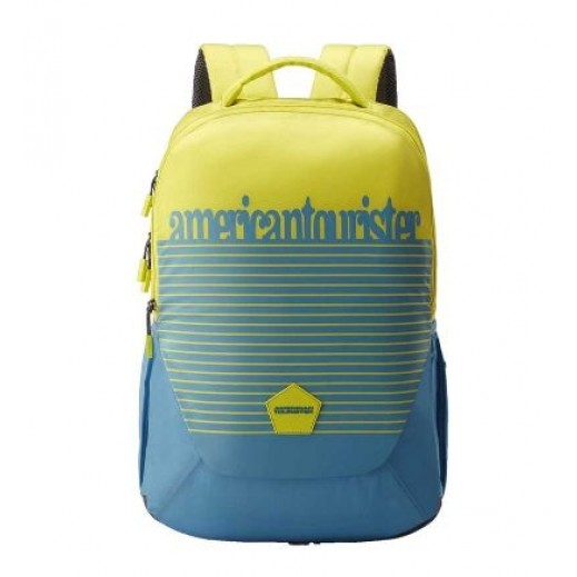 American Tourister Turk 03 Backpack Grey/Lime
