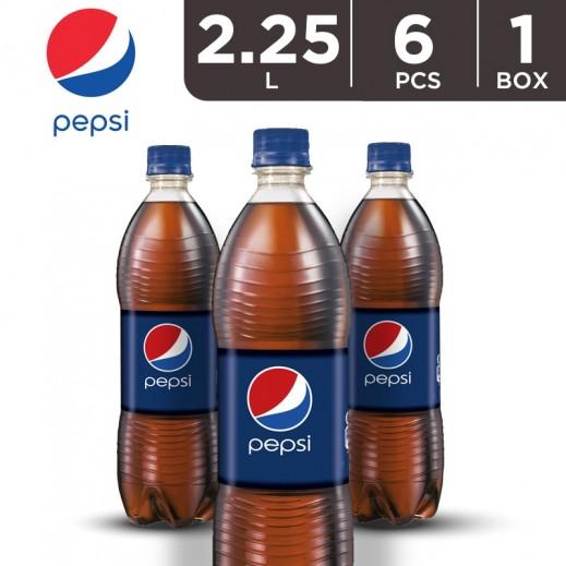Pepsi Family Size Bottle Carton 6x2.25 L