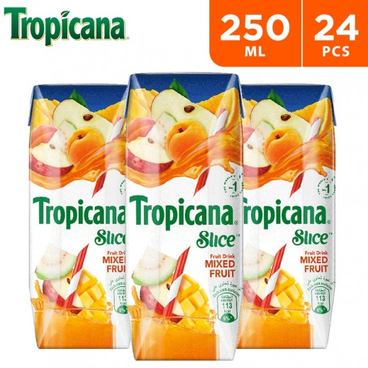 Tropicana Slice Mixed Fruit Drink 24 x 250 ml