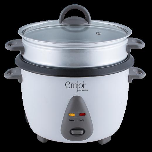 Emjoi Rice Cooker 1.8 L 700 W - White