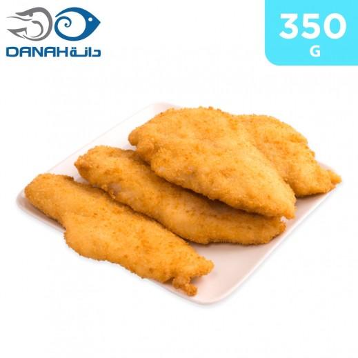 Danah Frozen Breaded Fish Fillet 350 g