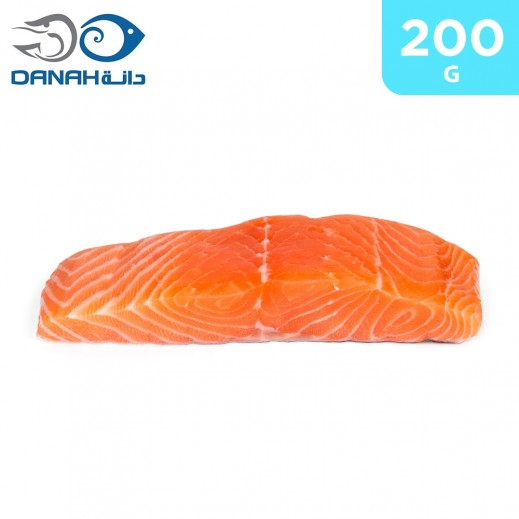 Danah Frozen Skinless Salmon Portions 200 g