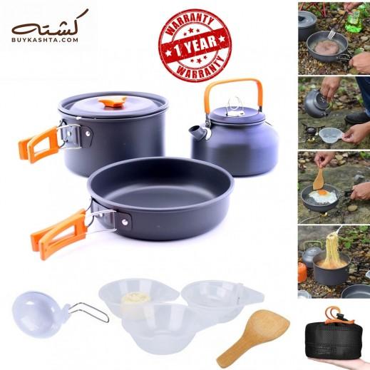 Kashta Portable Cooking & Kettle Set 10 Pieces