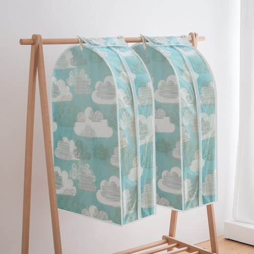 Small Hangable Dust Cover for Clothes By Taw9eel Essentials (Assorted Colors)