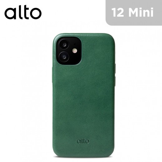 Alto Original 360 Italian Leather Case for iPhone 12 mini - Forest Green