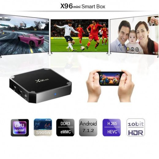 X96 Mini Android 4K Smart TV Box