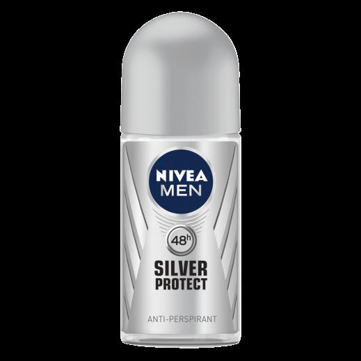 Nivea Men Silver Protect Deodorant Roll On 50ml