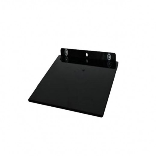 NHE Easy Stand Single Shelf for DVD Player and Receiver – Black