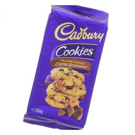 Cadbury Milk Dark Chunky Cookies 200 g