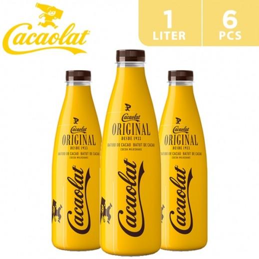 Cacaolat Gluten Free Cocoa Milk Shake Original 6 x 1 L