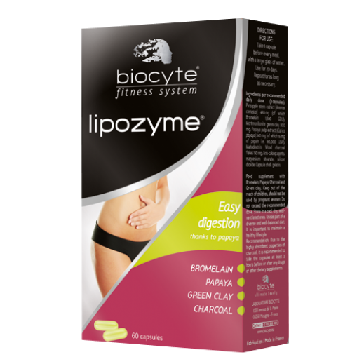 Biocyte Fitness System Lipozyme Easy Digestion 60 Capsules