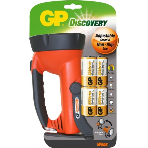GP Discovery Torch with Stand Plus Battery - Bundle Offer