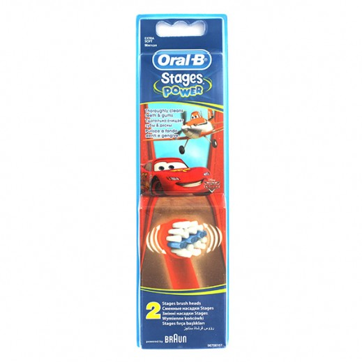 Oral-B Toothbrush Heads Stages Power For Kids EB10