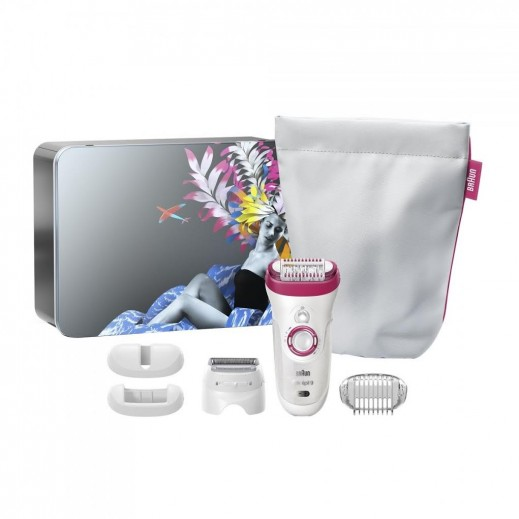 Braun Silk Epil 9 Wet & Dry Epilator Gift Pack SE-9-567
