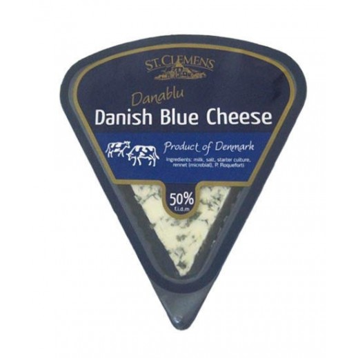 St Clemens, Danish Blue cheese, 50%, 100 g
