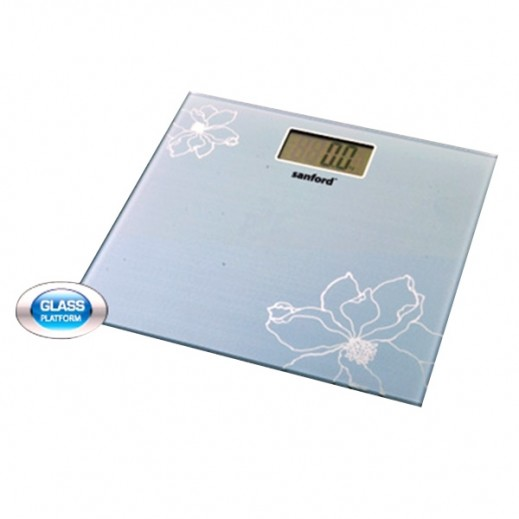 Sanford LCD Display Bathroom Scale SF1510BS