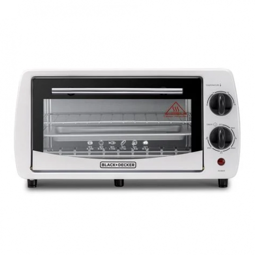 Black & Decker Oven 9 L 800 W - White