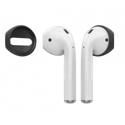AHAStyle fit in the case ear cover for Apple Airpods - Black