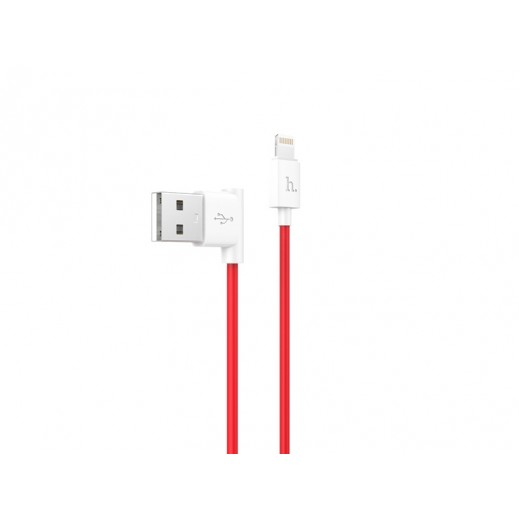 Hoco Premium Lightning Cable 1.2 M - Red