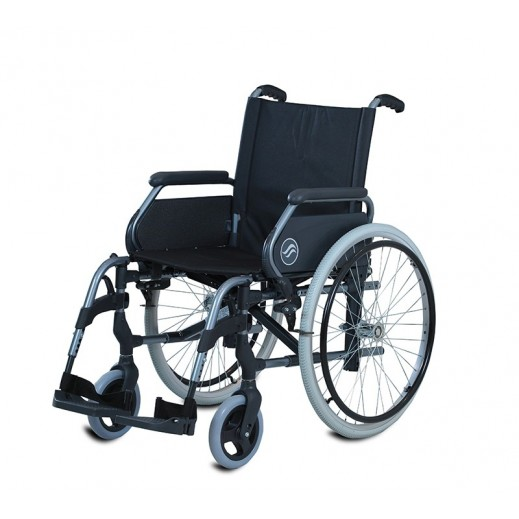 Breezy Standard Wheelchair 49 Cm Seat Width 312 SW/37B - delivered by Al Essa Company