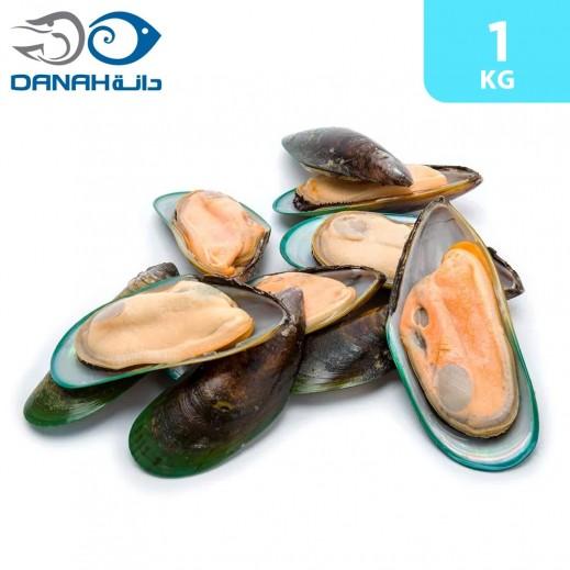 Danah Frozen Half Shell Mussels 1 kg
