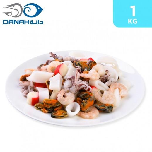 Danah Frozen Seafood Mix 1 kg