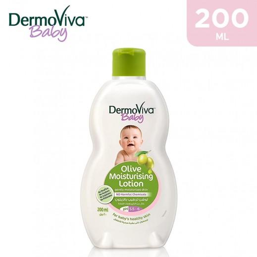 Dabur DermoViva Olive Moisturizing Baby Lotion 200 ml