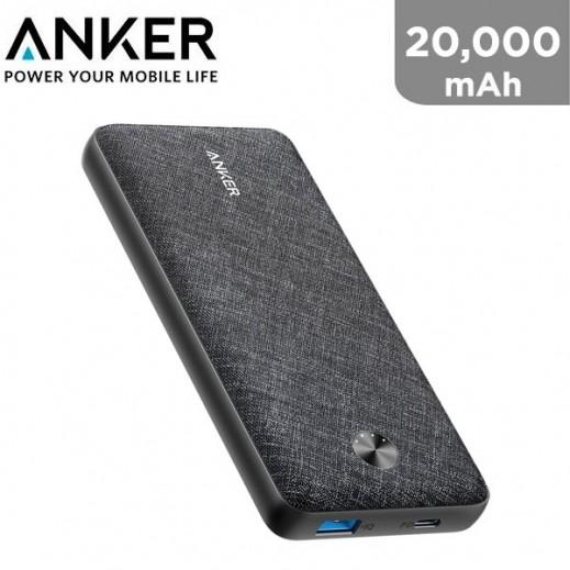 Anker 20,000 mAh Power Bank - Black