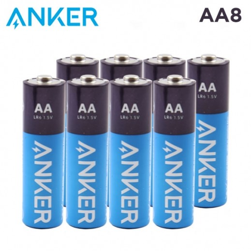 Anker Alkaline AA Batteries (8-Pack) - B1810H13