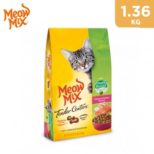 Meow Mix Tender Centers Vitality Bursts (Cats Food) 1.36 kg