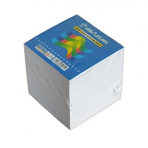 Value Pack - Sinarline White Memo Pad Cube (6 pieces)