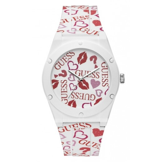 Guess Retro Pop White Silicone Women's Watch - delivered by Beidoun after 3 Working Days
